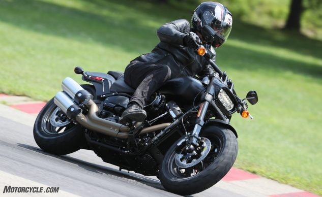 The Fat Bob looks aggressive from any angle, and it has the increased capabilities to back up the attitude.