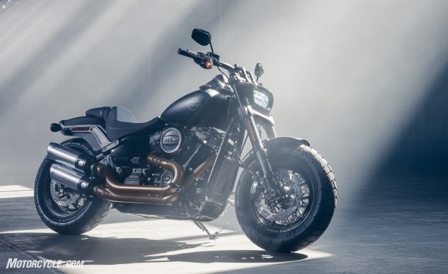 The Fat Bob, your 2018 post-apocalyptic urban assault vehicle.