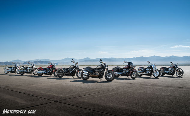 Harley-Davidson Introduces All New 2018 Softail Line