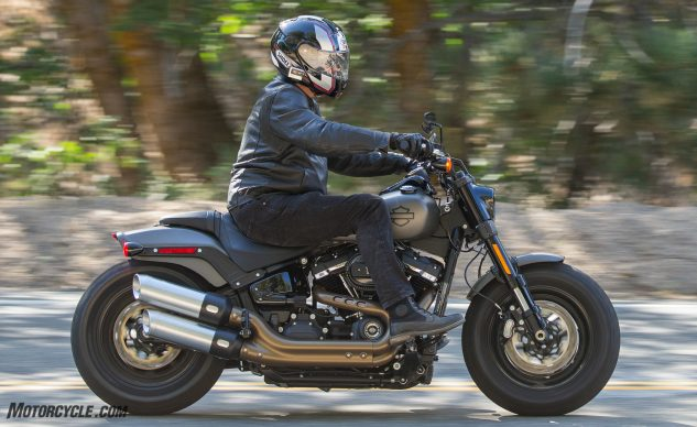 2018 Harley-Davidson Fat Bob 114 action