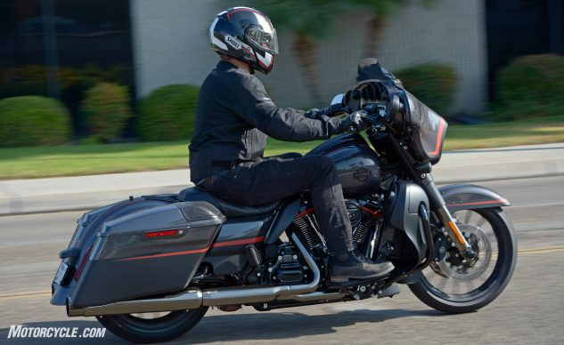 2018 Harley-Davidson CVO Street Glide Review action