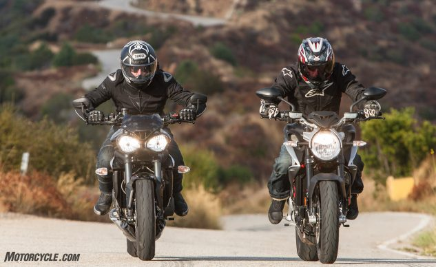 091317-mv-agusta-brutale-800-triumph-street-triple-rs-Euro-Streetfighters-Group-Action-1864