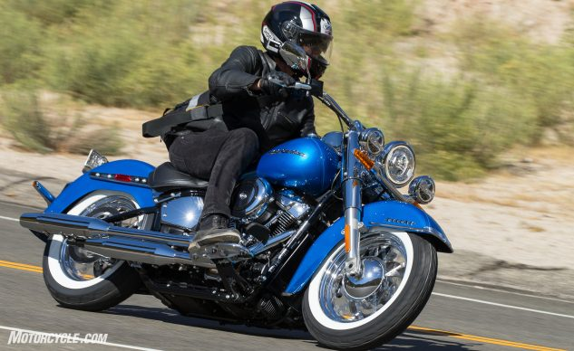2018 Harley-Davidson Deluxe Review – action