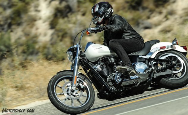 2018 Harley-Davidson Low Rider Review – action