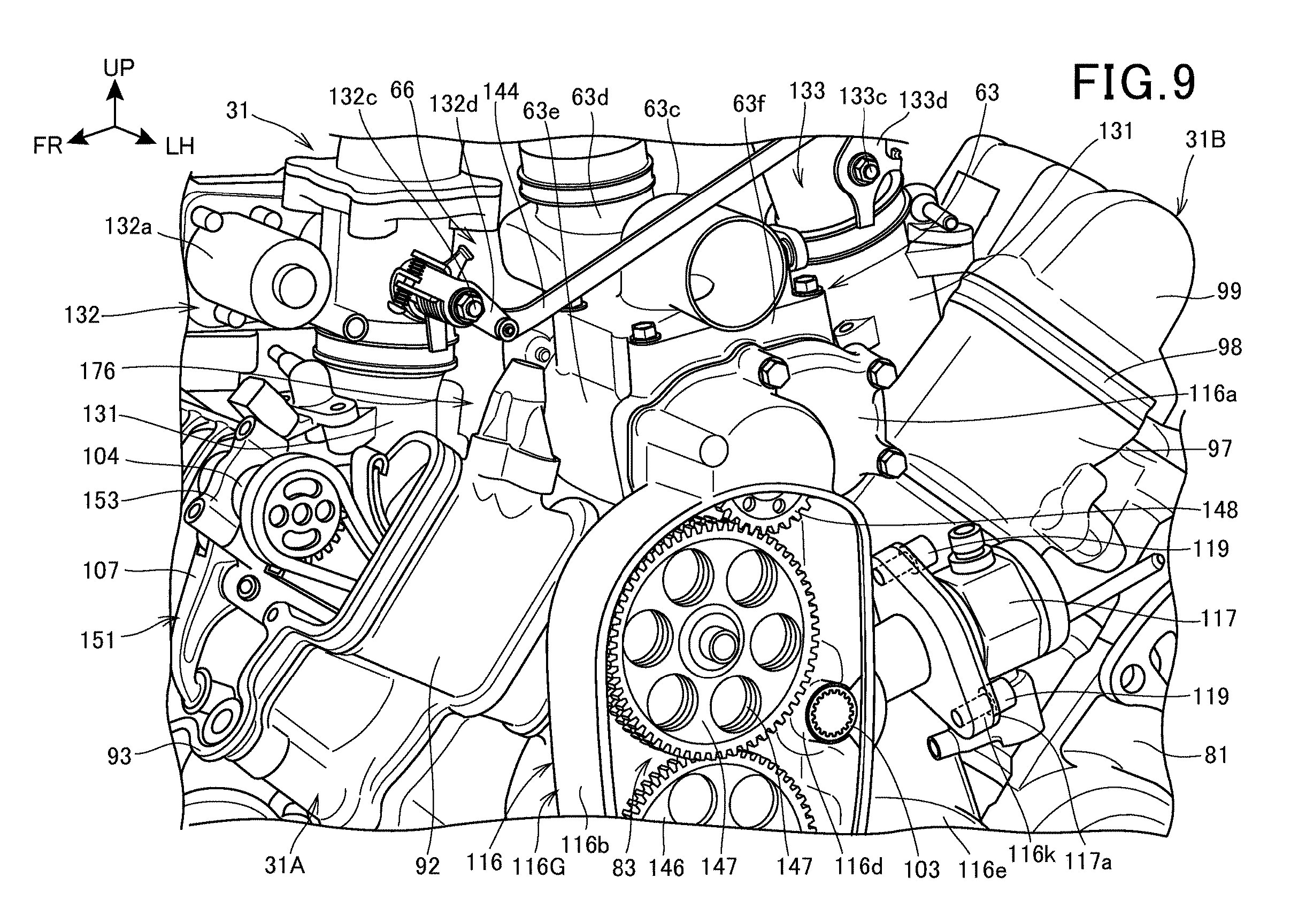Honda Developing Supercharged V Twin With Direct Injection Engine Supercharger Diagram And If A Isnt Enough The Patents Also Describe Fuel System To Spraying Directly Into Cylinder