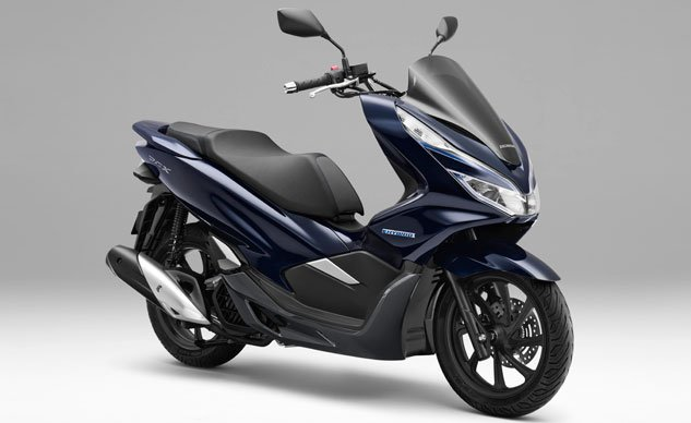Honda Pcx Electric >> Honda Pcx Scooter Goes Hybrid And Electric