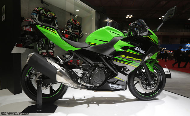 First Look 2018 Kawasaki Ninja 400