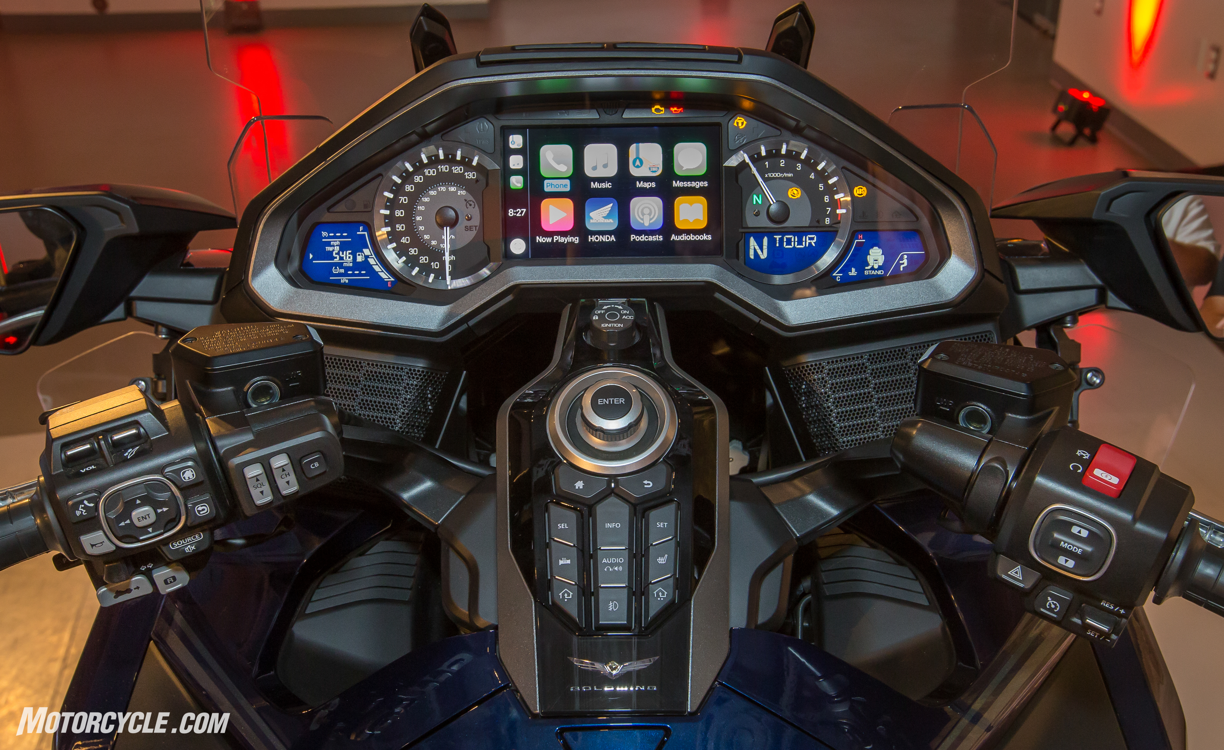 Top 10 Facts About The 2018 Honda Gold Wing Gl1800 Wiring Diagram Communication Tour