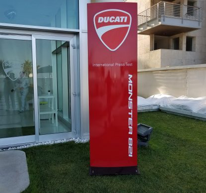 Ducati Monster 821 Press Launch