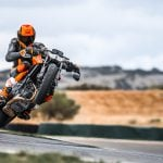 2019 KTM 790 Duke wheelie