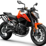 2019 KTM 790 Duke right
