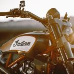 Indian Scout FTR1200 Custom tank and headlight