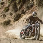 Indian Scout FTR1200 Custom in the dirt