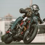 Indian Scout FTR1200 Custom action