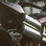 Indian Scout FTR1200 Custom exhaust