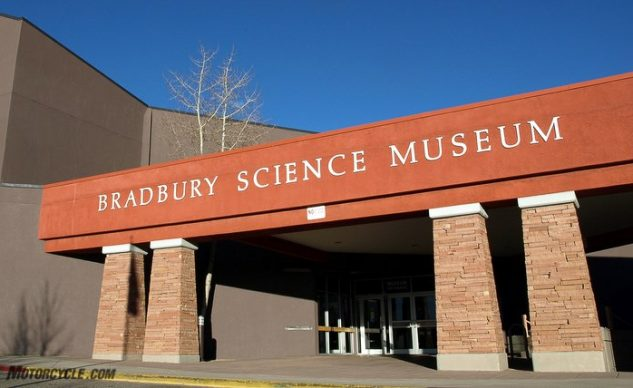 2018 Honda Gold Wing and the Nuclear Tourist Tour: Day 2, Bradbury Science Museum
