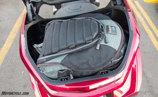 2018 Honda Gold Wing and the Nuclear Tourist Tour: Day 2, Trunk