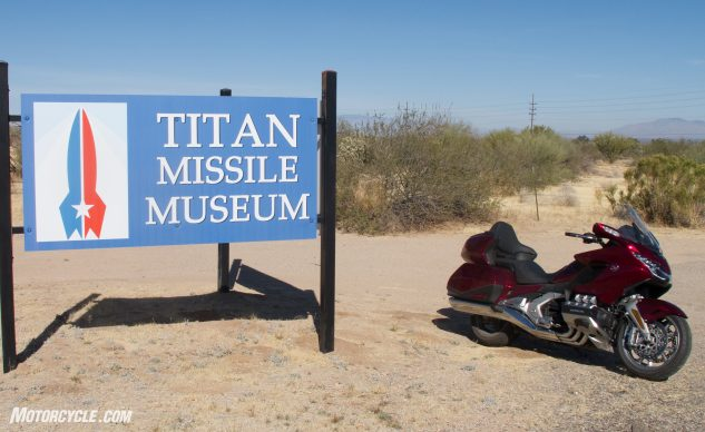 2018 Honda Gold Wing and the Nuclear Tour Day 4 - Titan Missile Museum