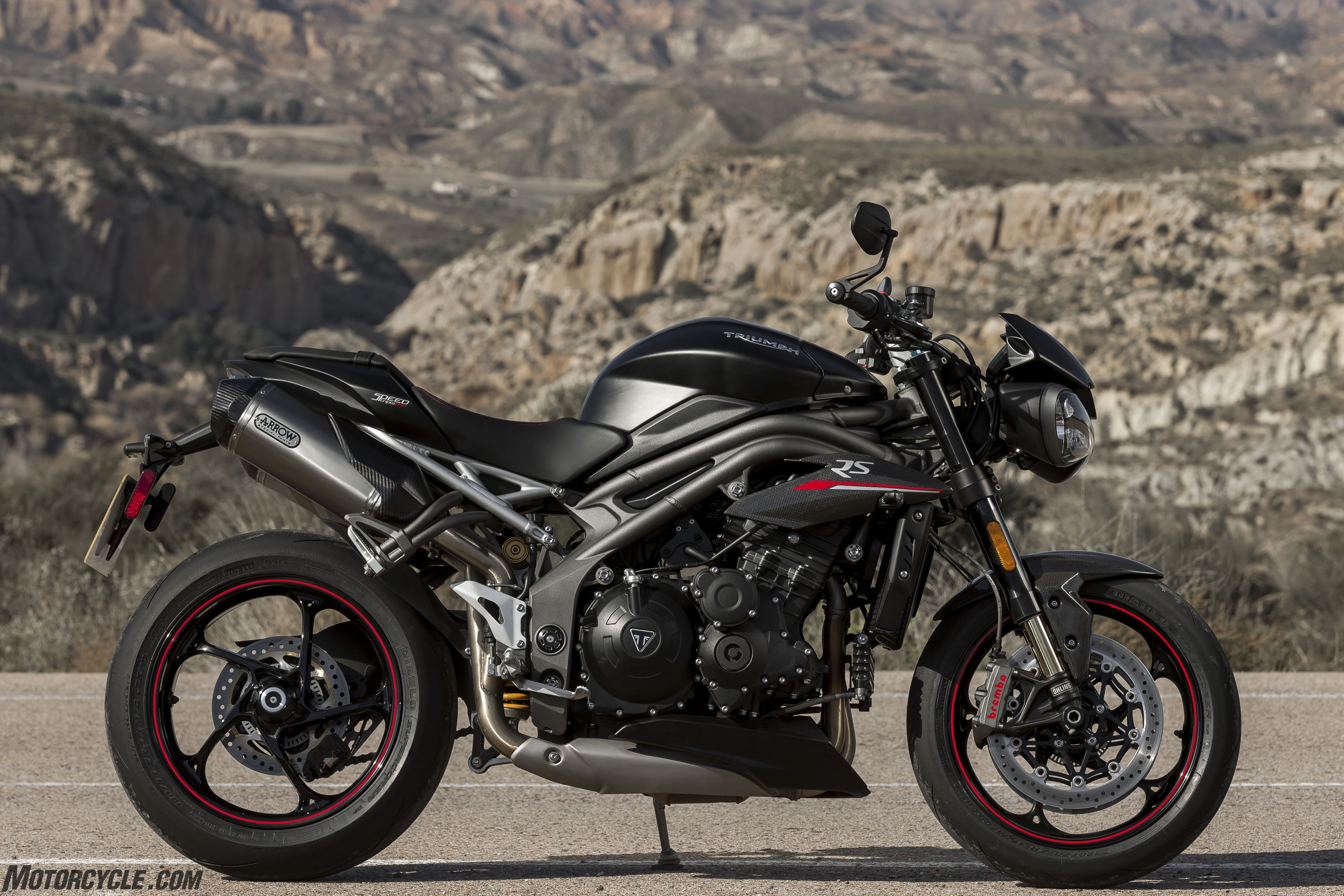 2018 Triumph Speed Triple Rs Review First Ride
