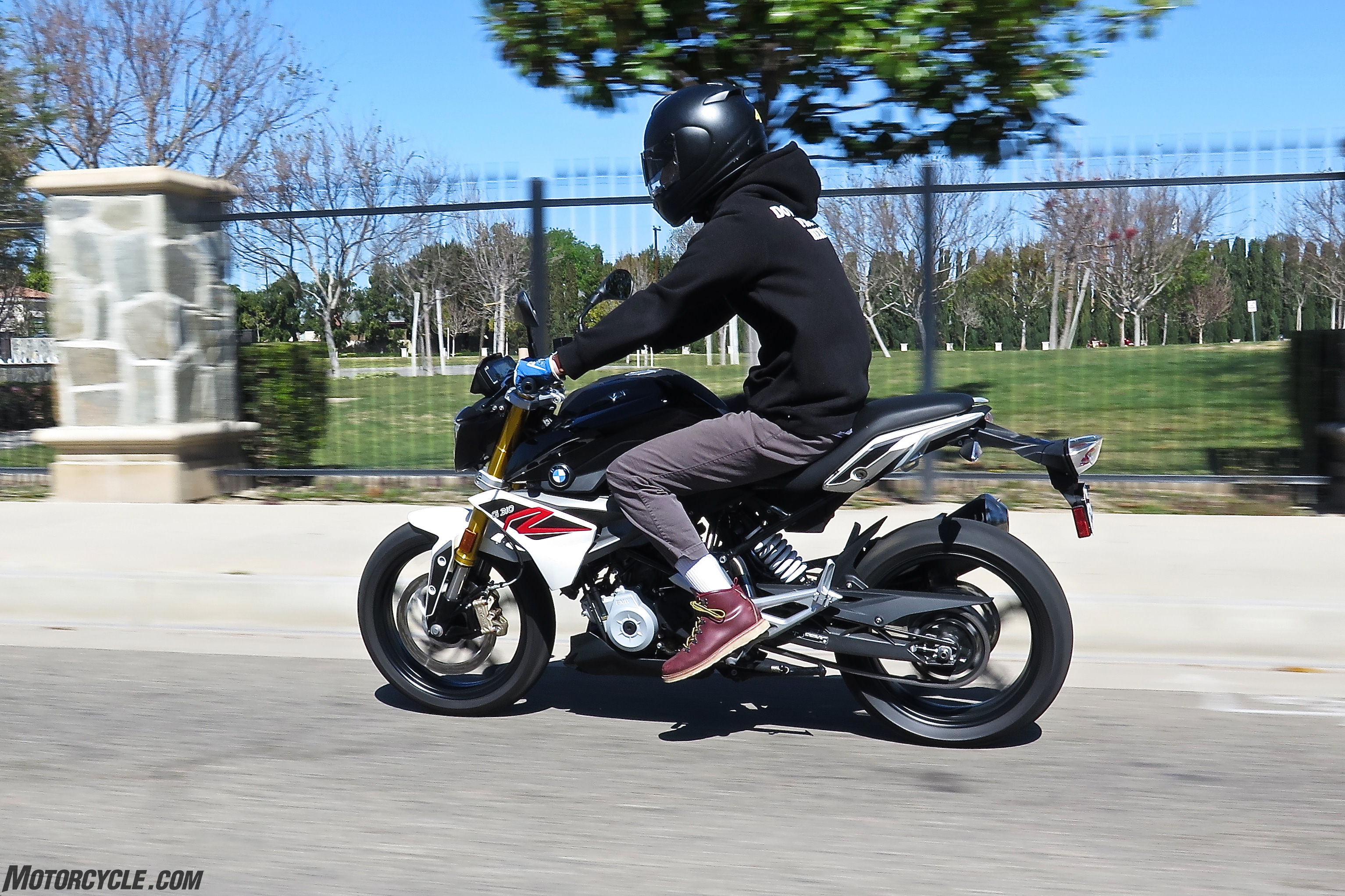 2017 Bmw G310r Review