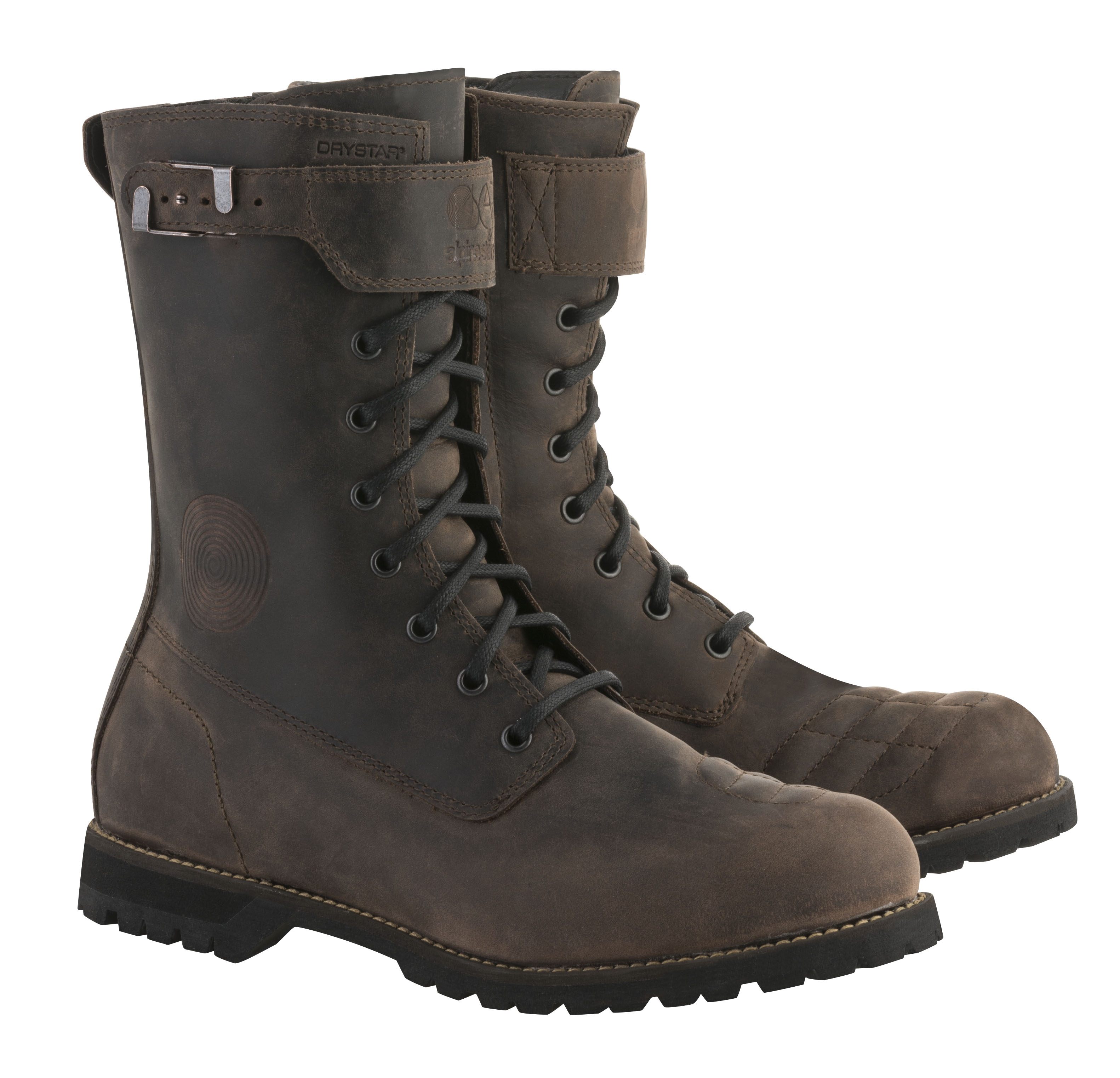 eaa6e4e6dfb939 A vintage-military style boot with its roots in café-racer culture