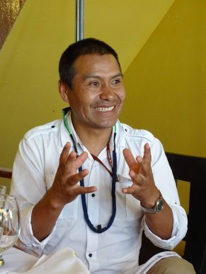 Javier, the most animated guide in Peru