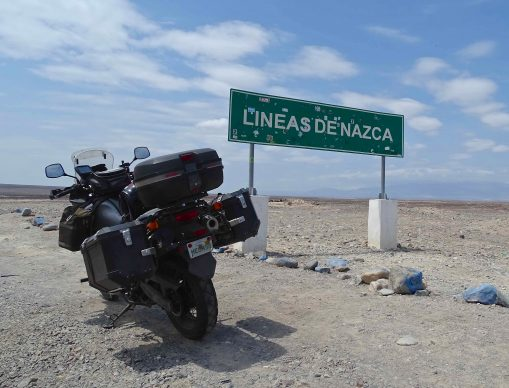 Lines of Nazca sign