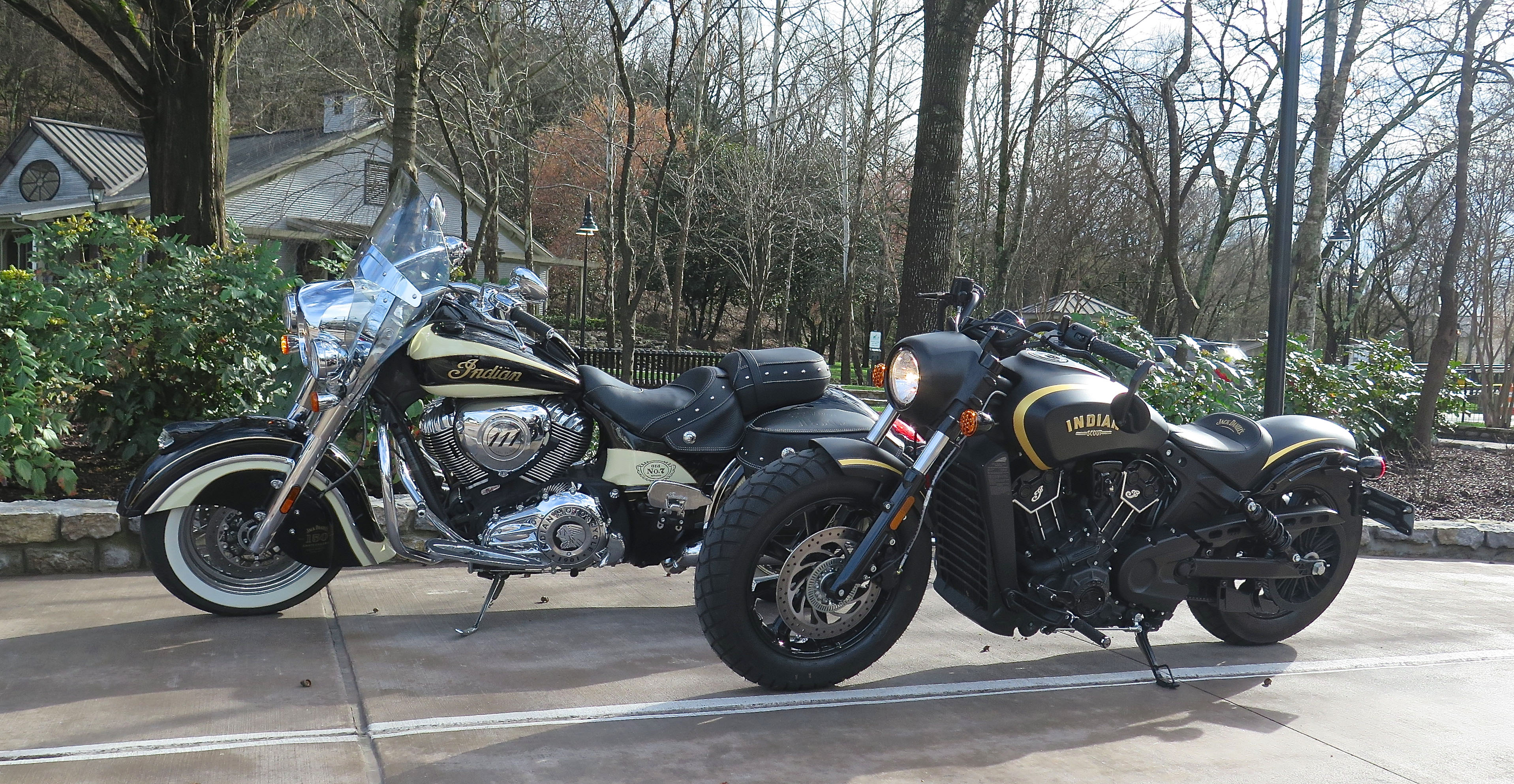 2018 Indian Jack Daniels Scout Bobber Review - First Ride
