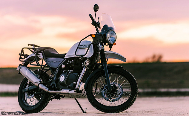 2018 Royal Enfield Himalayan Review First Ride