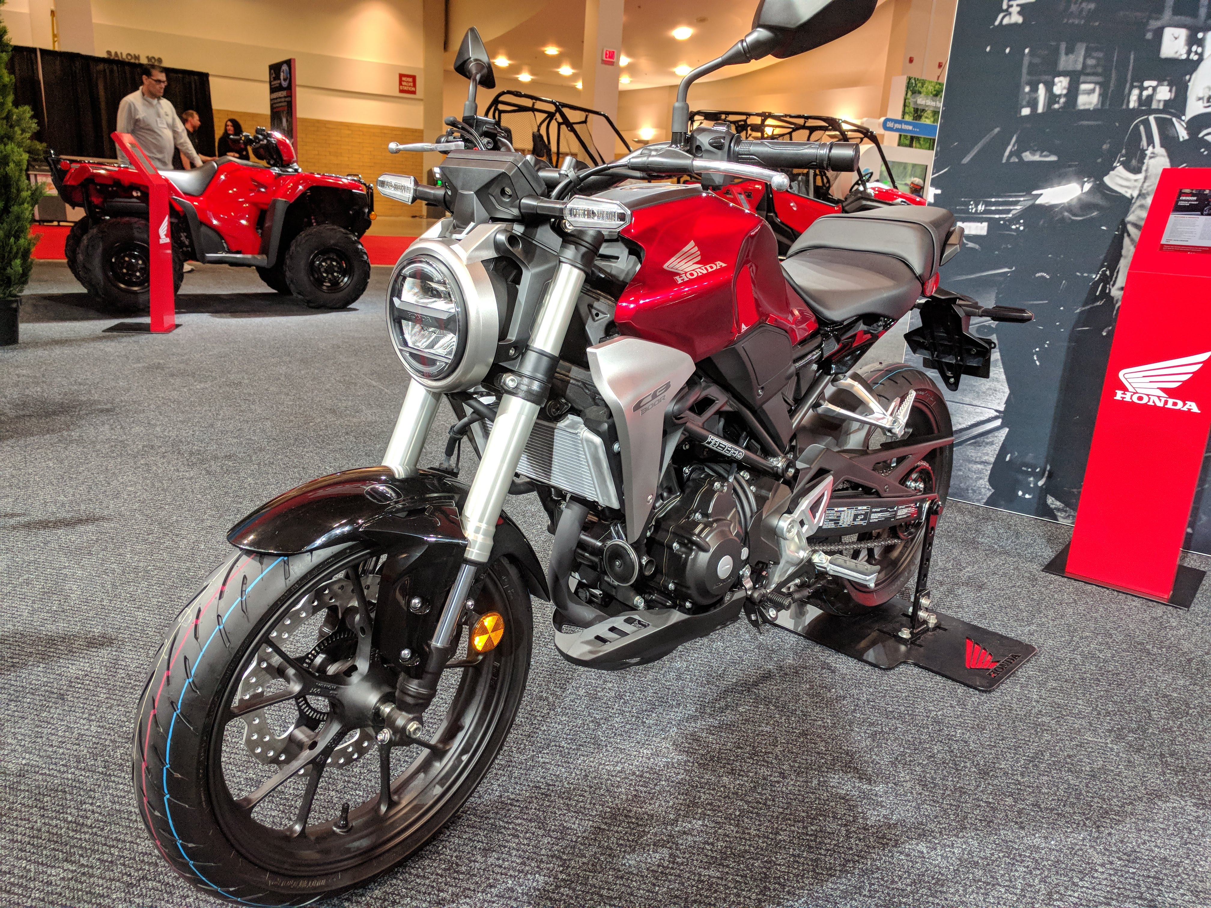 Motorcycle Dealers Toronto >> 2019 Honda CB300R Announced for America