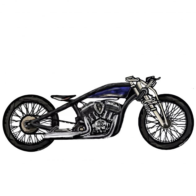 The Wrench Indian Scout Bobber Build Off