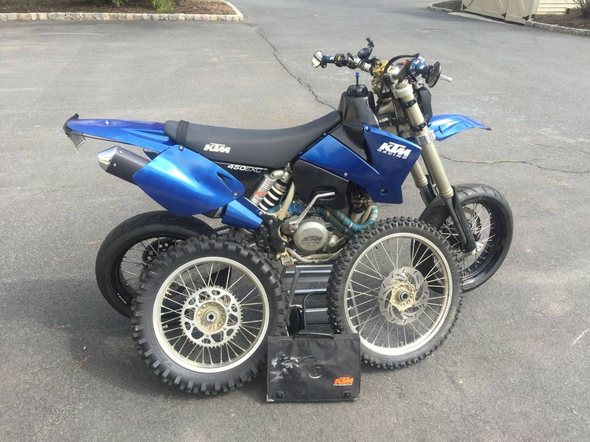Craigslist Deal O' The Day: 2003 KTM 450 EXC Supermoto