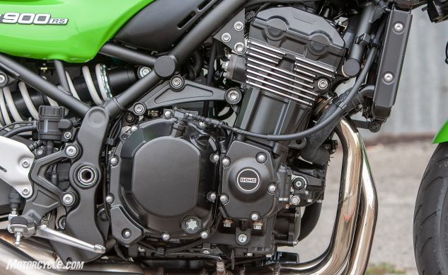 Kawasaki Z900RS Cafe engine