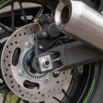 Kawasaki Z900RS Cafe rear wheel