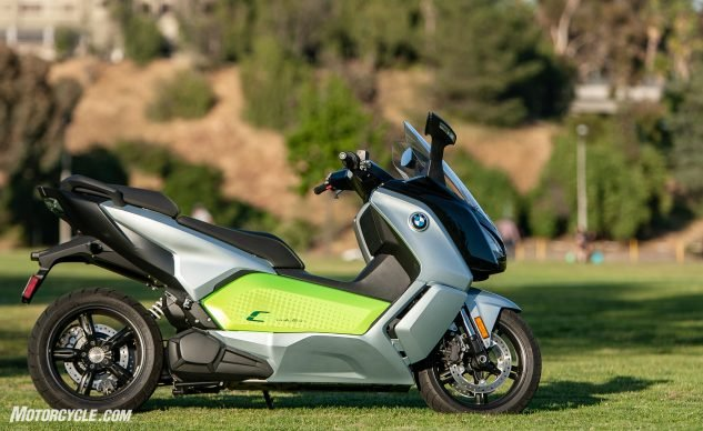 urban electric motorcycles – BMW C Evolution