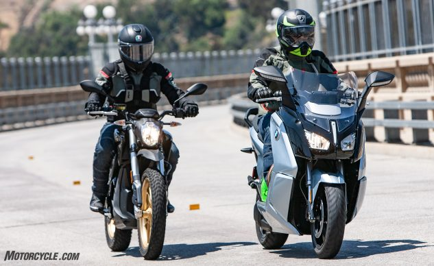 urban electric motorcycles