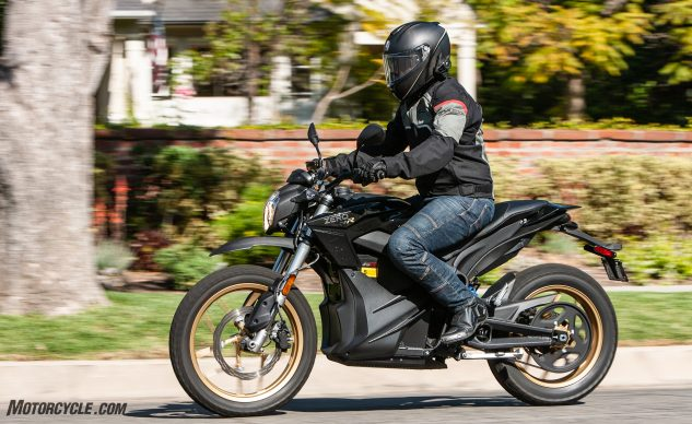 urban electric motorcycles - Zero DSR