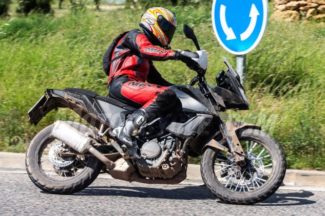 2019 KTM 390 Adventure Spy Photos