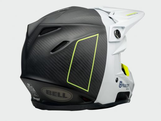 3HS192920X MOTO 9 FLEX RAILED HELMET CLOSE UP