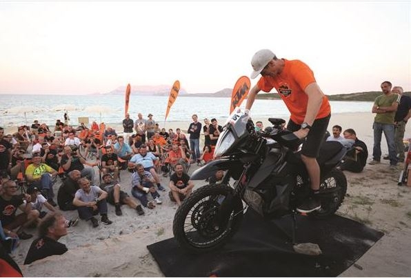 First Look At The 2019 Ktm 790 Adventure R