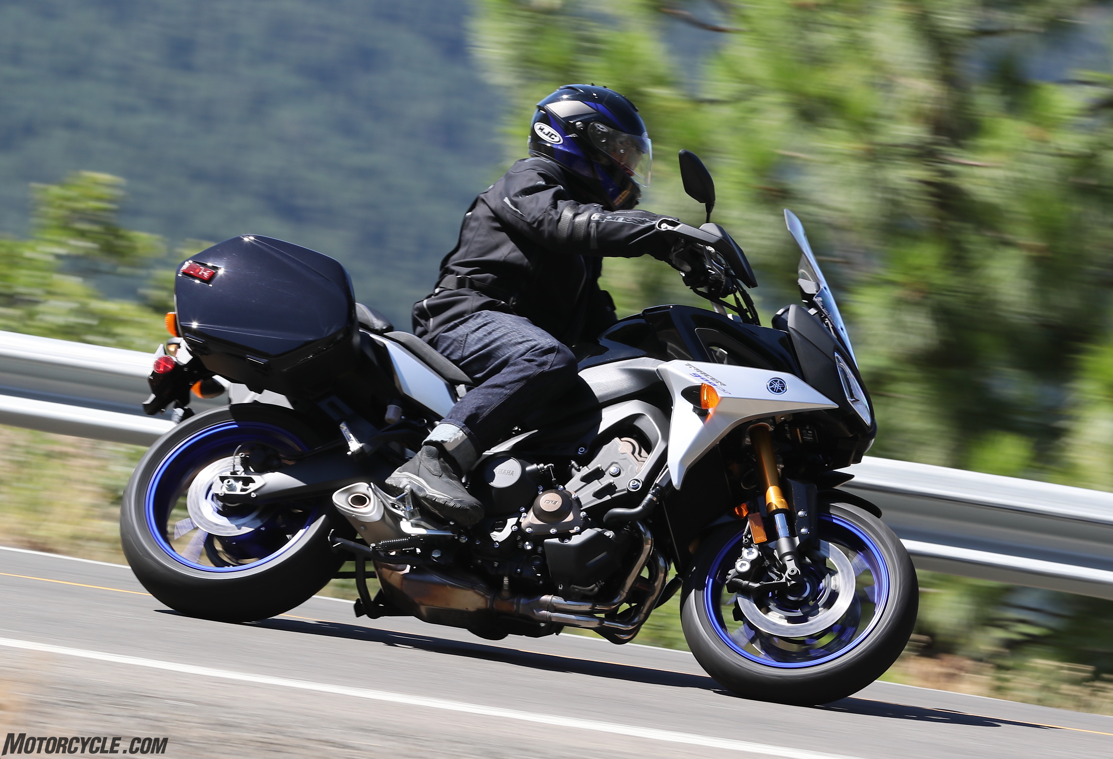 2019 yamaha tracer 900 gt review first long ride. Black Bedroom Furniture Sets. Home Design Ideas