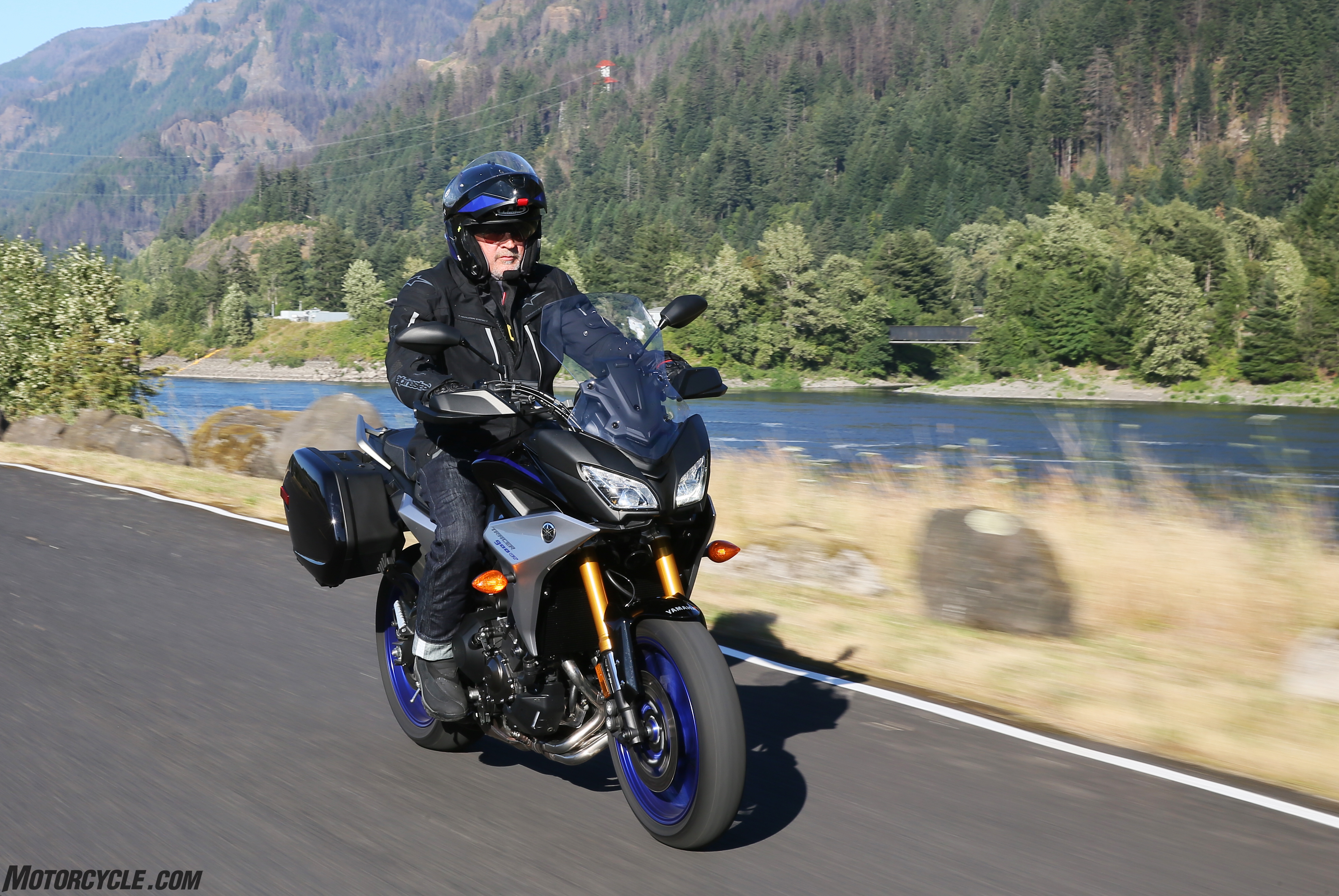 2019 Yamaha Tracer 900 Gt Review First Long Ride