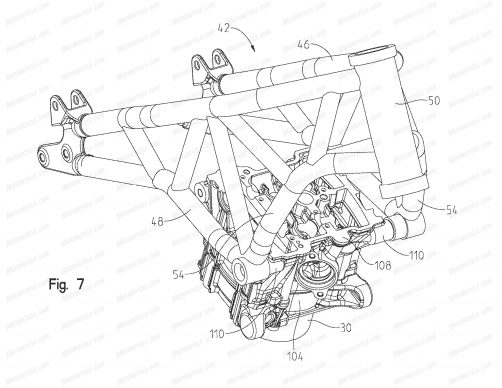 091318-2019-Indian-FTR1200-patent-fig-7-chassis-2-scout-1200-engine