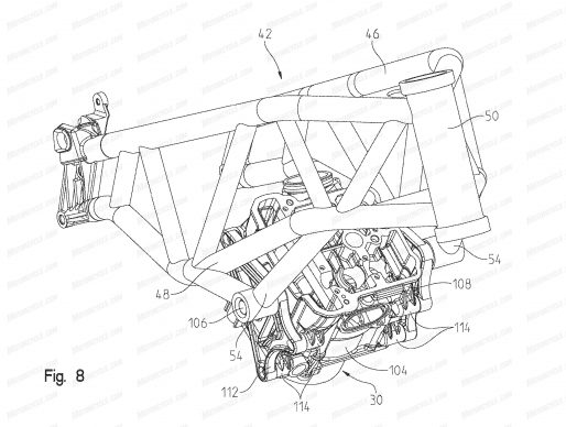 091318-2019-Indian-FTR1200-patent-fig-8-chassis-3