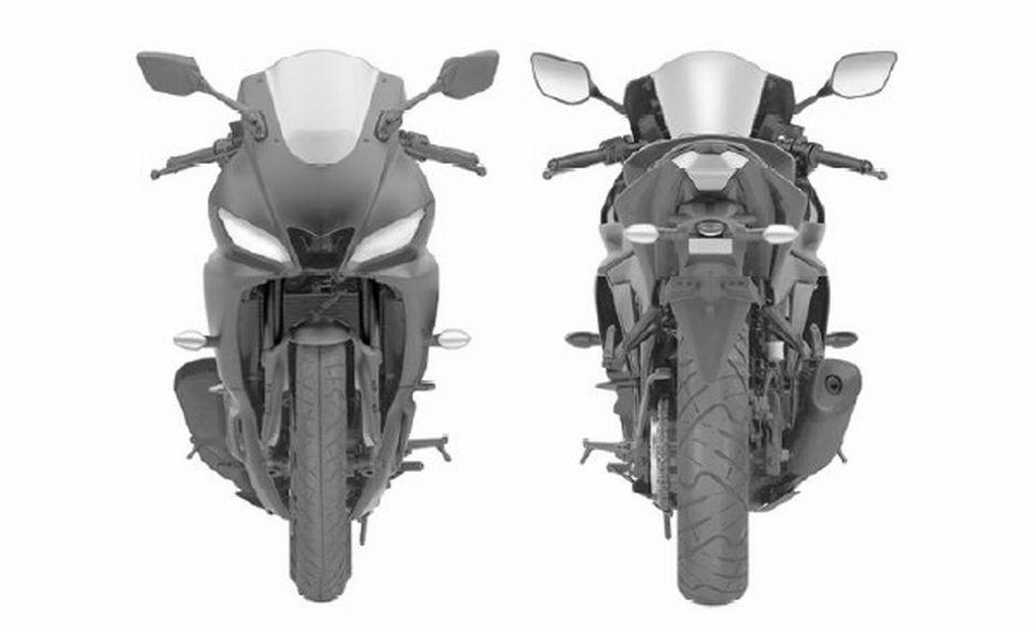 Updated 2019 Yamaha Yzf R3 Revealed In Design Filings