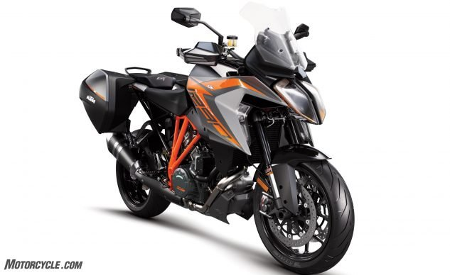 100218 2019 Ktm 1290 Super Duke Gt 01 Motorcycle Com