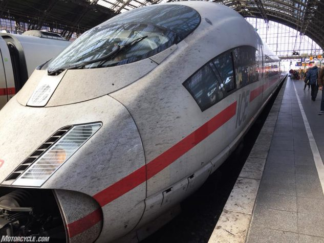 German ICE bullet train