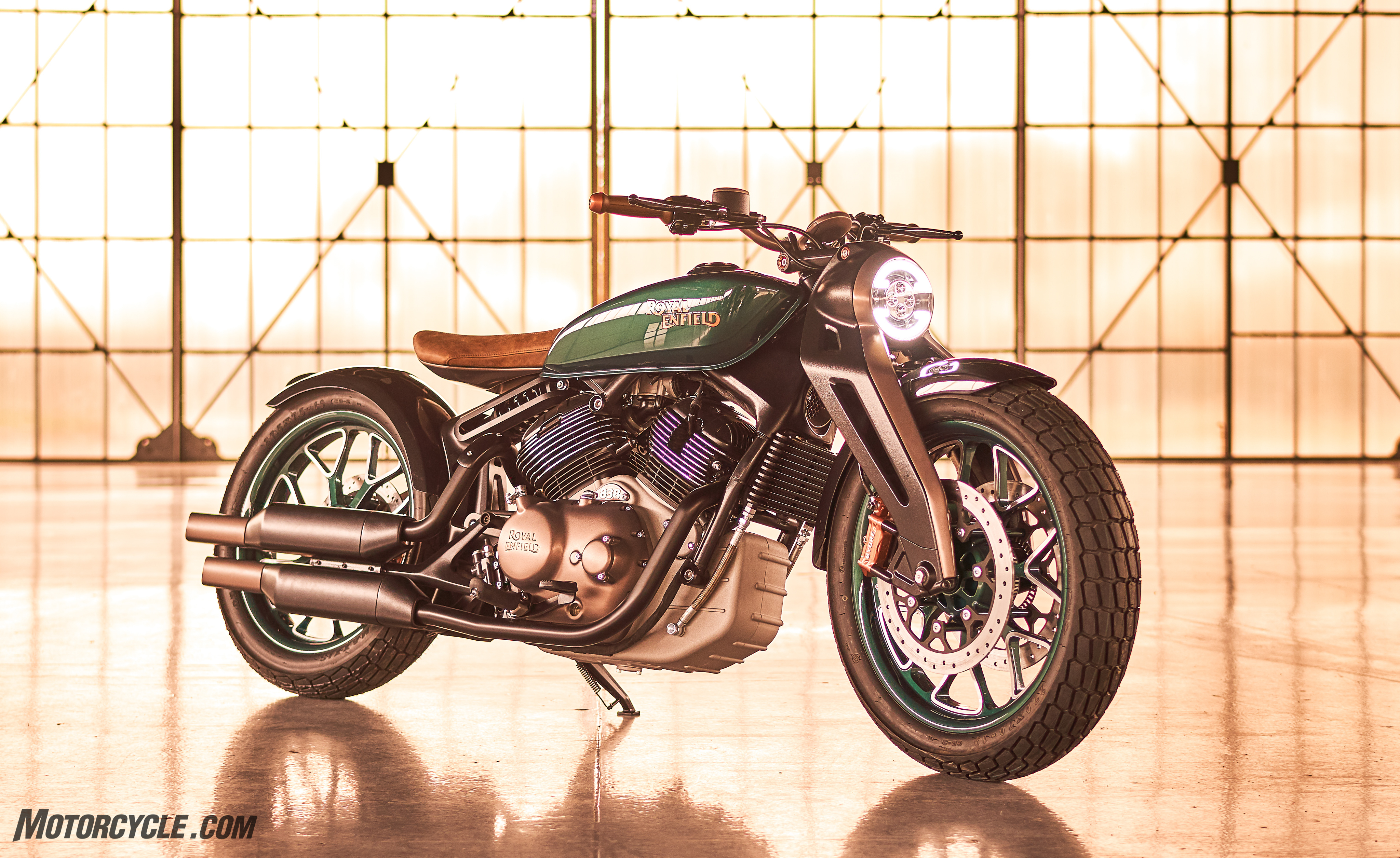 Royal Enfield Concept Kx Revealed At EICMA