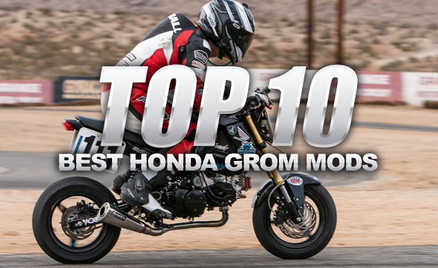 Top 10 Best Honda Grom Mods - Motorcycle com