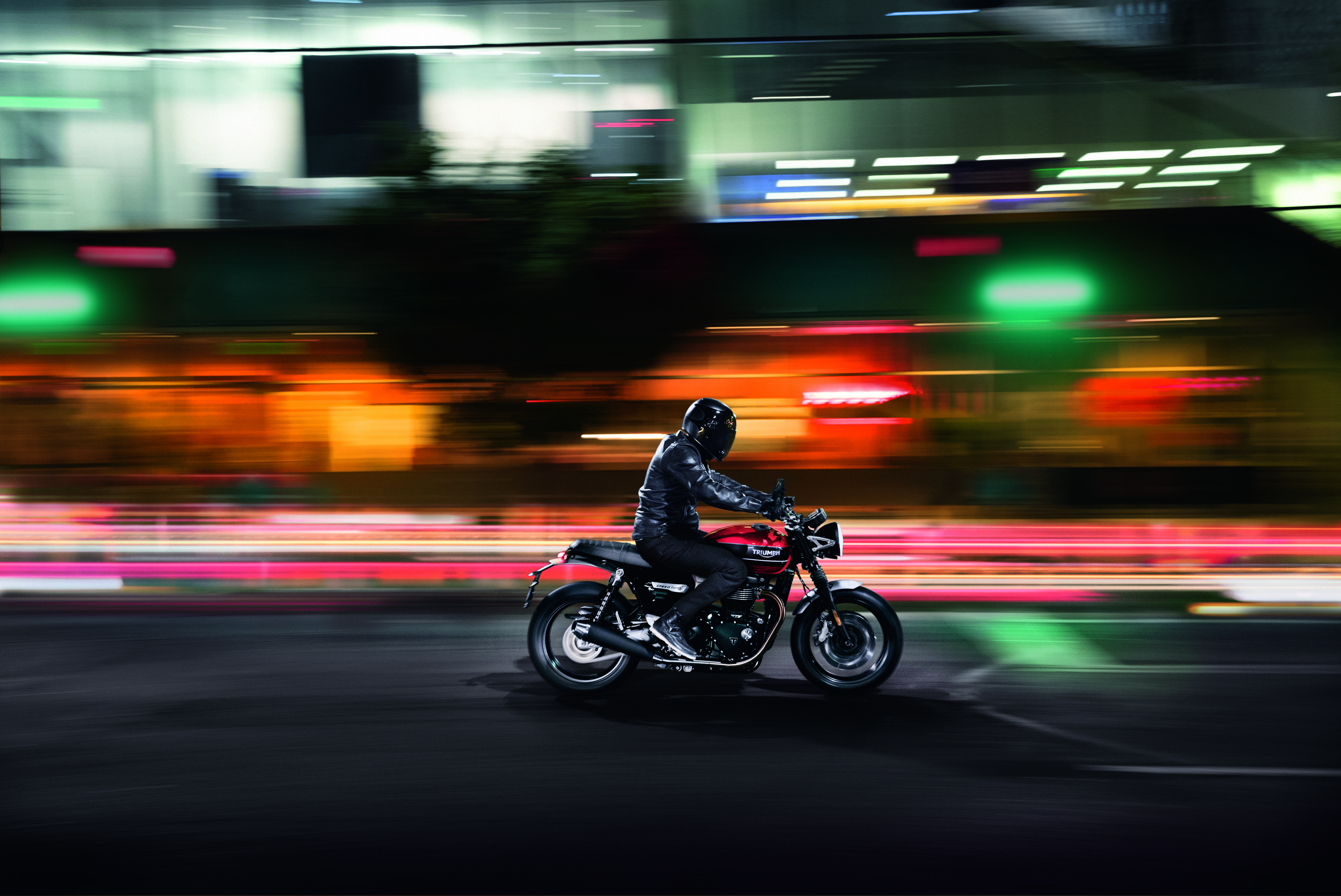 2019 Triumph Speed Twin First Look Motorcycle Com